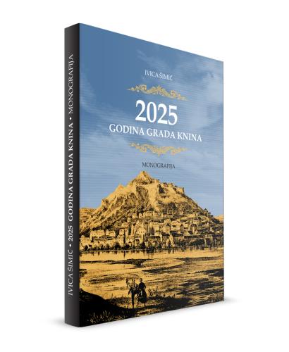 """Knjižnica izdaje kapitalno djelo o Kninu - monografiju """"2025 godina grada Knina"""" autora Ivice Šimića"""