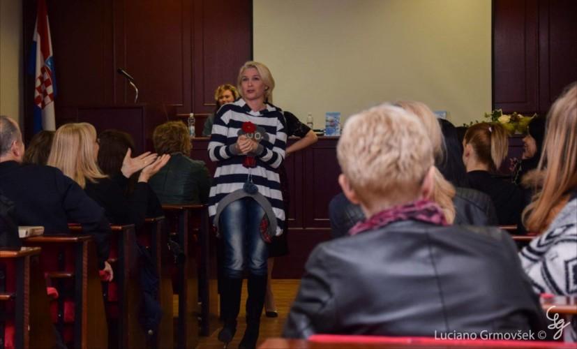"""Ivana Plechinger predstavila knjigu """"Ono što ostaje, uvijek ljubav je"""""""