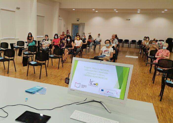 "Održana završna konferencija projekta ""Razvoj digitalne, informatičke i medijske pismenosti u Kninu"""