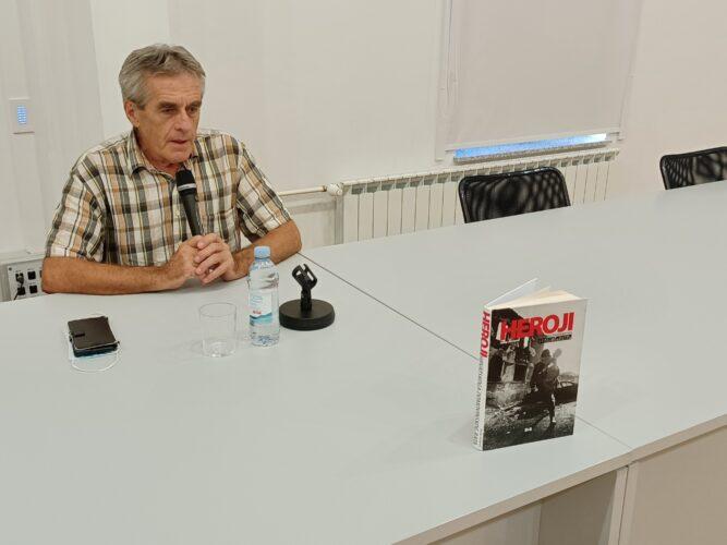 Profesor Jurčević predstavio knjigu o herojima Domovinskog rata